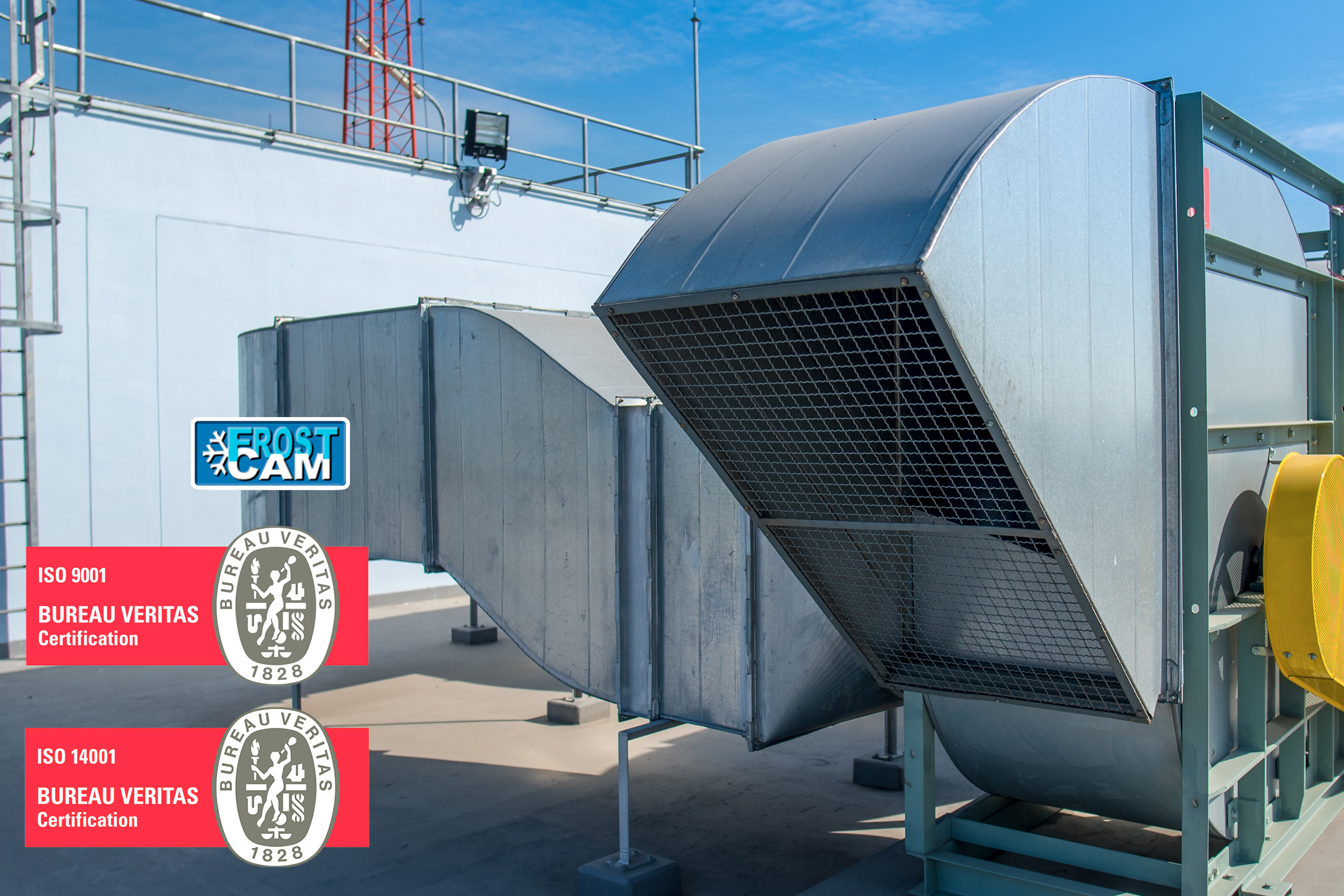 Frostcam empresa certificado ISO 9001 y 14001